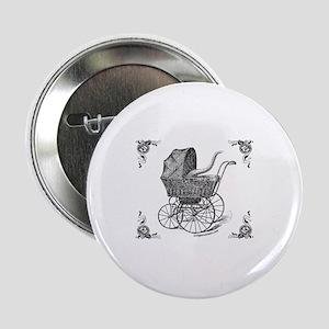 "Steampunk Victorian cthulhu baby 2.25"" Button"