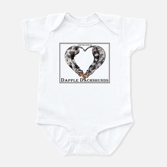Love of Dapple Dachshunds Infant Bodysuit