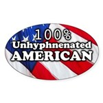 Uhyphenated American (Oval)