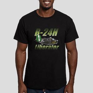 B-24 Liberator Men's Fitted T-Shirt (dark)