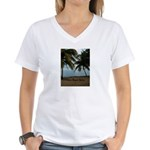 Belize Women's V-Neck T-Shirt
