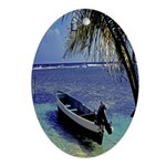 Belize Oval Ornament