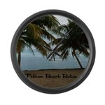 Belize Large Wall Clock