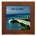 Belize Framed Tile