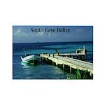 Belize Rectangle Magnet (100 pack)