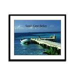 Belize Framed Panel Print