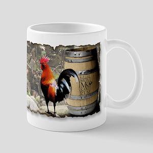 Kauai Rooster Rum Mug
