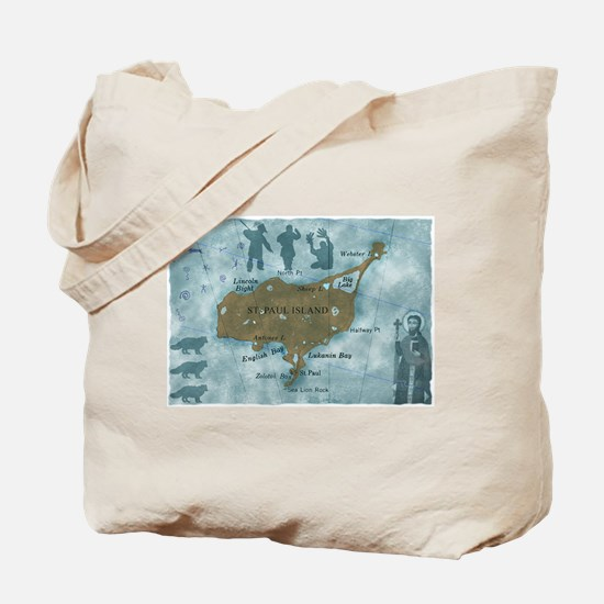 St. Paul/St. George, Alaska Tote Bag