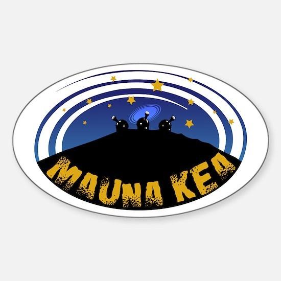 Mauna Kea Oval Decal