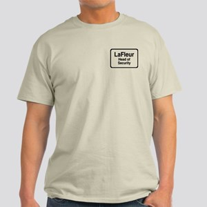"""LaFleur Head of Security"" Light T-Shirt"