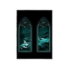 Gothic Bat Windows 5'x7'area Rug