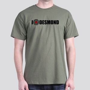 I Love Desmond - Dharma Dark T-Shirt