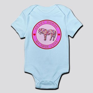 HEART HORSE - My True Love Infant Bodysuit