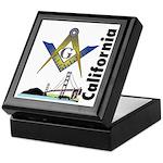 California Freemasons Keepsake Box