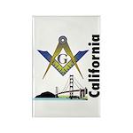 California Freemasons Rectangle Magnet (100 pack)