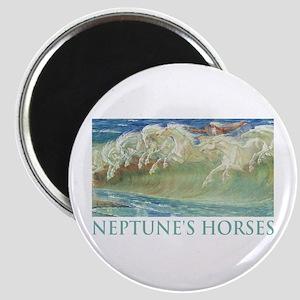 NEPTUNE'S HORSES Magnet