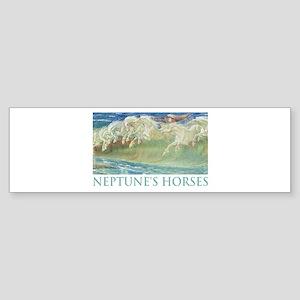 NEPTUNE'S HORSES Bumper Sticker