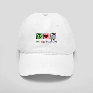 Peace Love Breastfeeding Cap