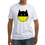 Bat Smiley Fitted T-Shirt