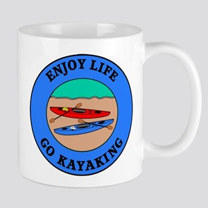 Enjoy Life Go Kayaking Mug