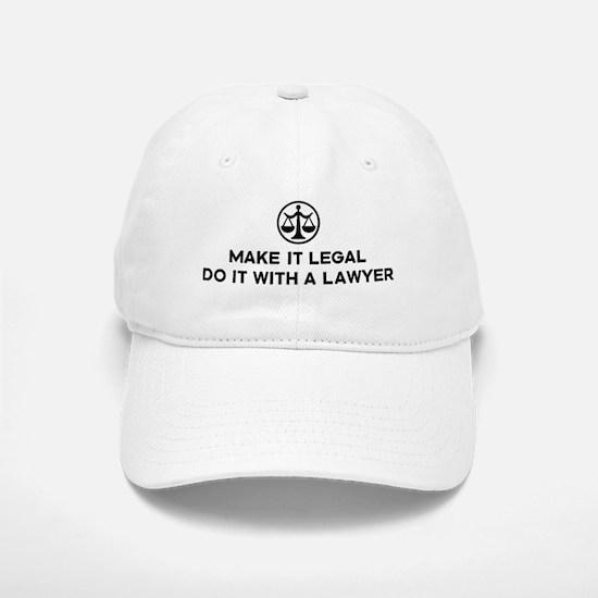 Funny Lawyer Baseball Baseball Cap