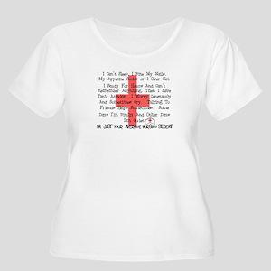 Nursing Student XX Women's Plus Size Scoop Neck T-