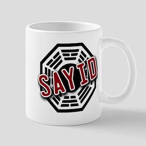 Sayid Dharma Logo from LOST Mug