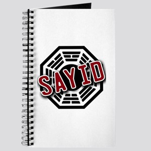 Sayid Dharma Logo from LOST Journal