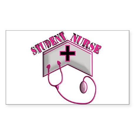 Nursing Student XX Rectangle Sticker