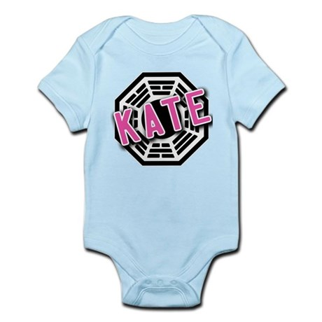 KATE Dharma Logo from LOST Infant Bodysuit
