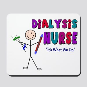 Renal Nephrology Nurse Mousepad
