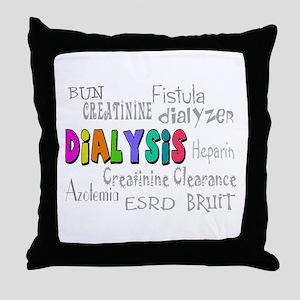 Renal Nephrology Nurse Throw Pillow