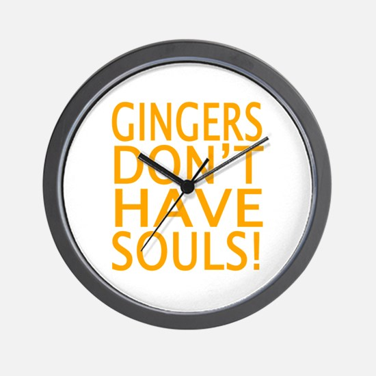 Cool Ginger Wall Clock