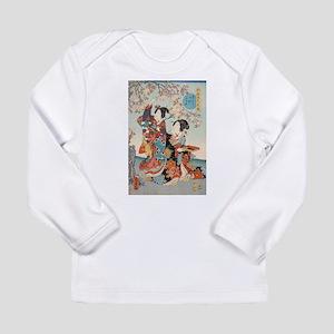 Japanese vintage beauty geisha Long Sleeve T-Shirt
