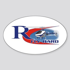 RC Fly Hard Oval Sticker