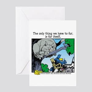 Fur Itself Greeting Card