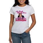 Military Family Granddaughter Women's T-Shirt