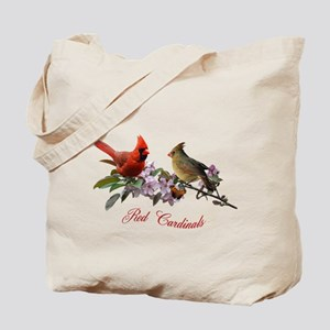 Cardinal pair Tote Bag