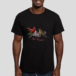 Cardinal pair Men's Fitted T-Shirt (dark)