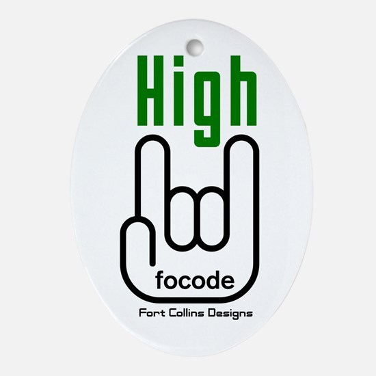 FoCoDe-High? Oval Ornament