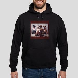Boxers Hoodie (dark)