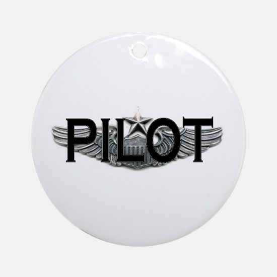Pilot Ornament (Round)
