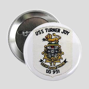 "USS TURNER JOY 2.25"" Button"