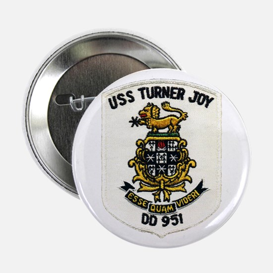 "USS TURNER JOY 2.25"" Button"