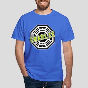 Charlie Dharma Logo from LOST Dark T-Shirt