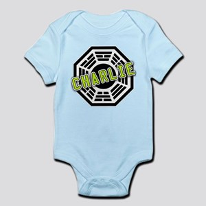 Charlie Dharma Logo from LOST Infant Bodysuit
