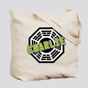Charlie Dharma Logo from LOST Tote Bag