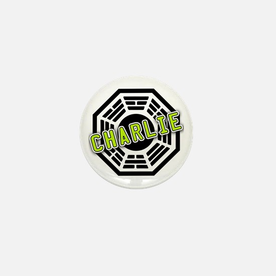 Charlie Dharma Logo from LOST Mini Button