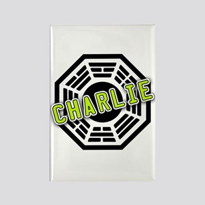 Charlie Dharma Logo from LOST Rectangle Magnet