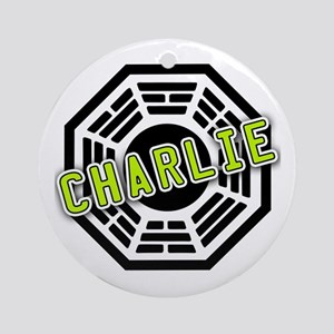 Charlie Dharma Logo from LOST Ornament (Round)